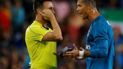 Ronald handed 5 match ban for violent attack on Referee