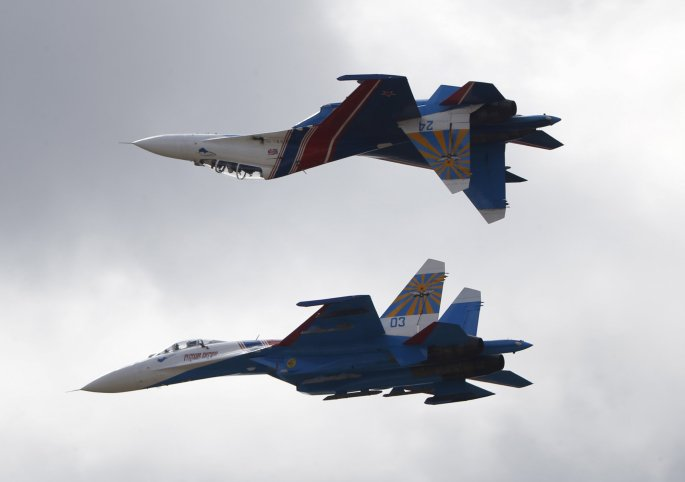 Tension as Russian fighter jets fly over Washington, new Jersey