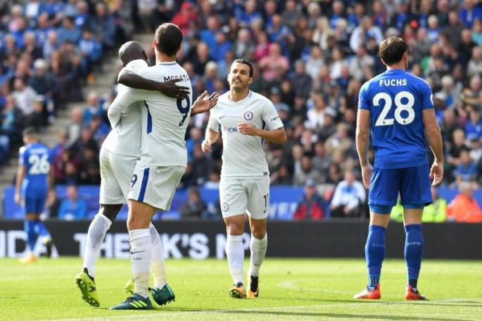 Leicester City 1 Chelsea 2: N'Golo Kante fires his former club as Morata makes another mark