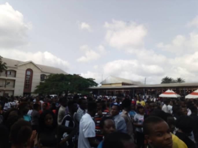 Federal Polytechnic, Oko students protesting ASUP strike