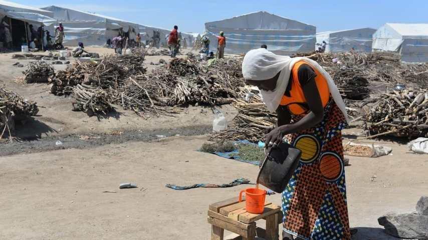 English-speaking Cameroonians flee government troops as President Biya declares war