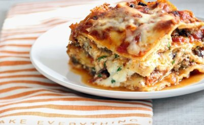 Today's recipe: Lasagna