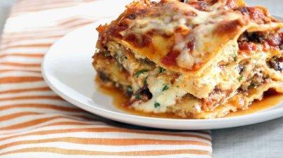 Today's recipe: Lasagna