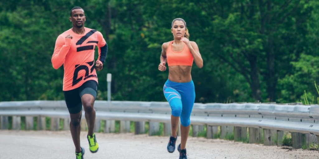 Why couples should never go running together