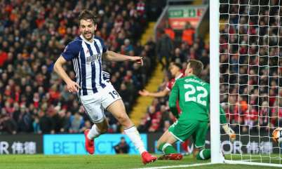 Liverpool dumped out of FA Cup by Jay Rodriguez's West Brom double