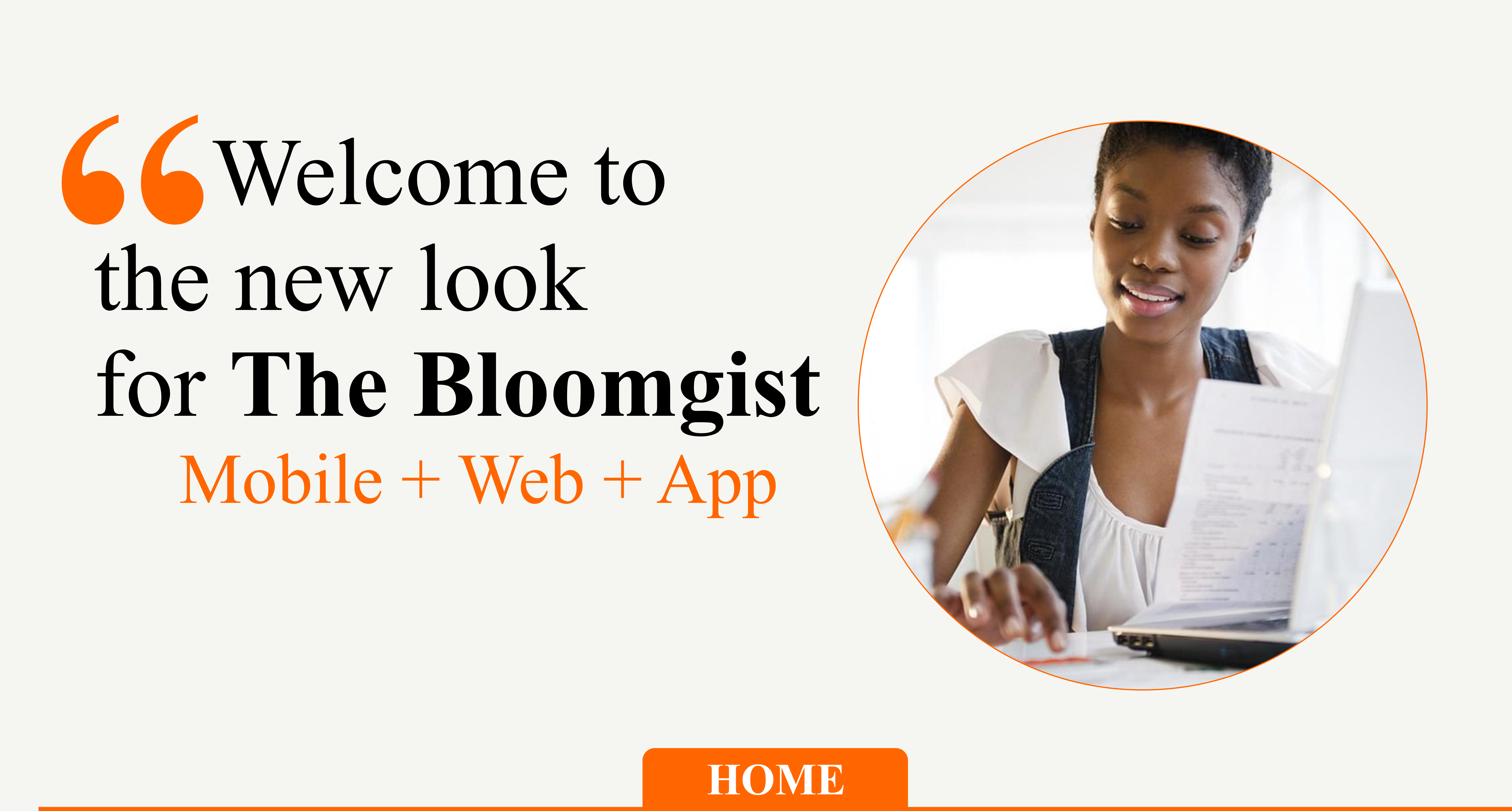 Welcome to the new look for the Bloomgist