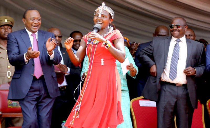 Kenyan artist back to school after 10 years