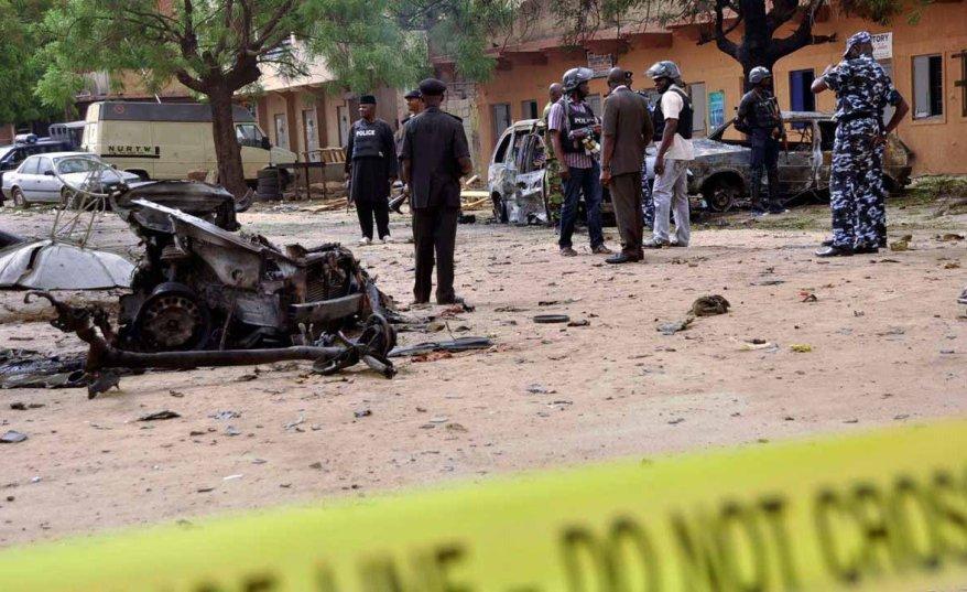 12 killed in Maiduguri suicide bombing