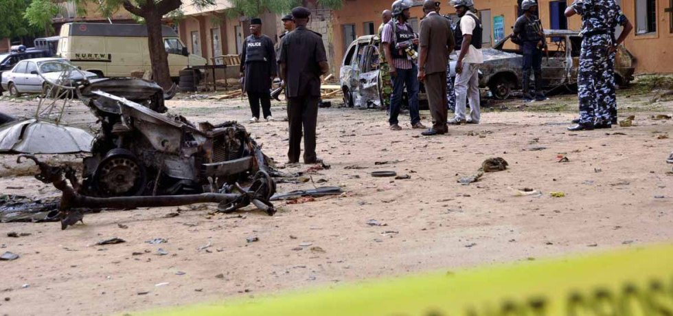 12 killed in Maiduguri suicide bombing