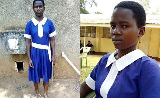 Girl who trekked 40km to school to get a special visit by Jeff Koinange