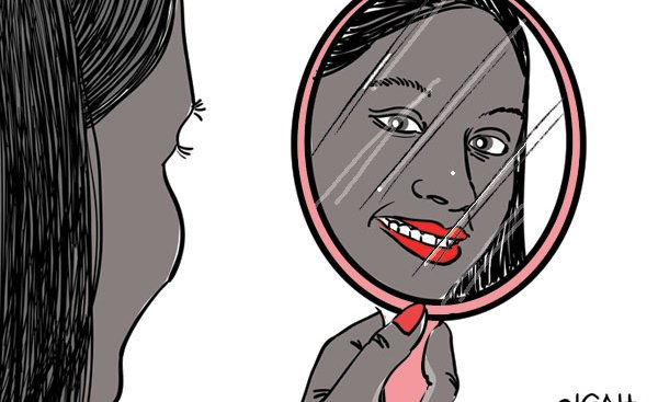 Is it a crime for dark skinned girls to feel beautiful?