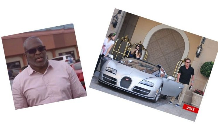 Nigerian man buys arnold Schwarzenegger's Bugatti for US$2.5 million