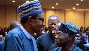Buhari 'warns aides over obasanjo'