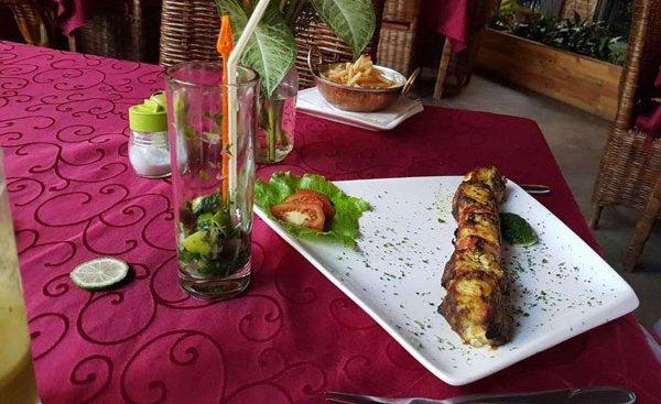 Bujumbura's Belvédère restaurant delights the Senses