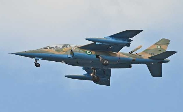 Unmanned aircraft bombard Boko Haram location