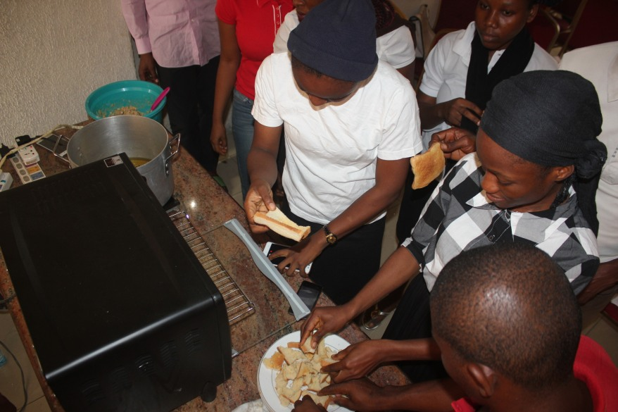 FoodA begins a month cooking training for youths