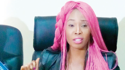 Stephanie Otobo returns, confesses of blackmailing Apostle Johnson Suleman