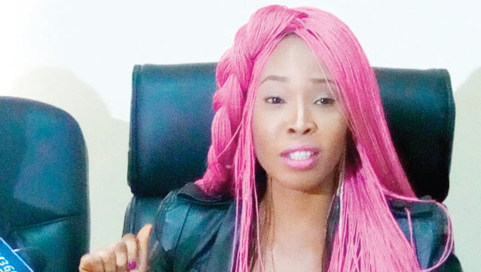Stephanie Otobo returns, confesses of blackmailing Apostle Johnson Suleman