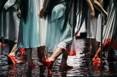 Watch the Met Opera stage a sea of blood
