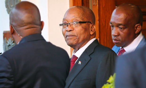 Jacob Zuma may step down as South African president 'within days'