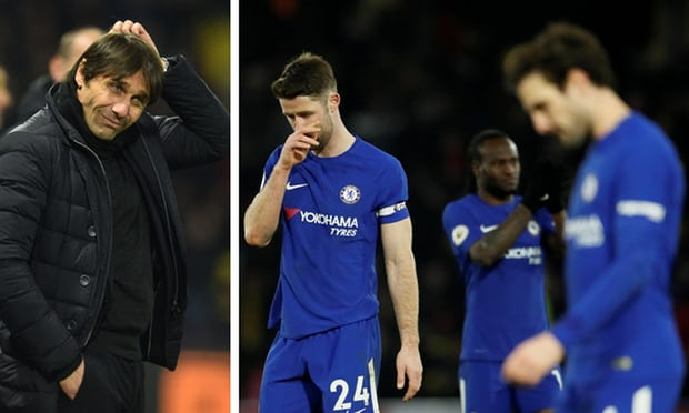 Antonio Conte will not resign as pressure grows on Chelsea manager