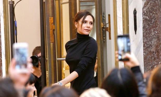 Victoria Beckham bids farewell to New York fashion week
