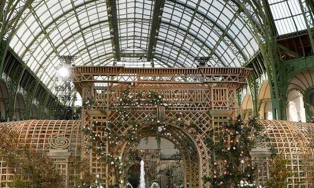Photo of the week: inside Chanel's rose garden