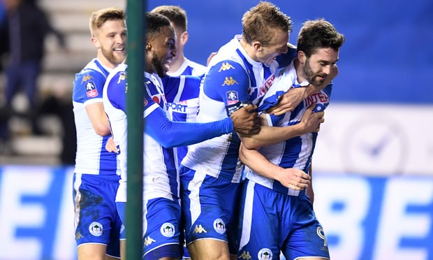 Wigan's Will Grigg shocks Manchester City and ends quadruple dream