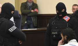 Paris attacks suspect Salah Abdeslam not talking as trial opens in Belgium