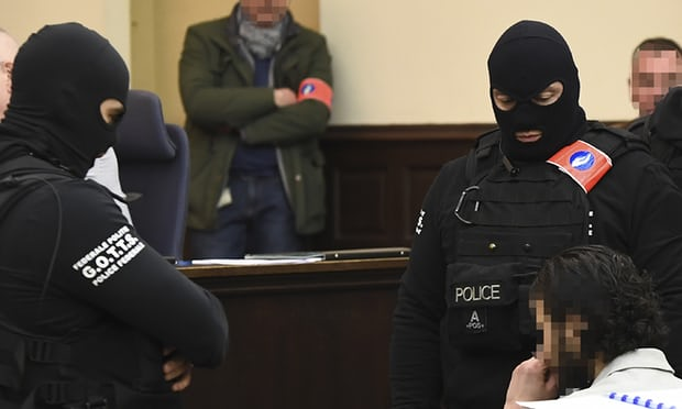 Paris attacks suspect Salah Abdeslam not talking as trial opens in Belgium