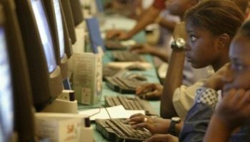 Young African women breaking gender barrier with venture into coding