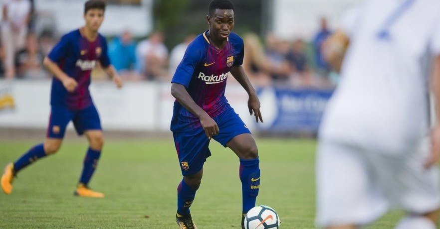 Barcelona Gambian star Alasana Manneh moves to Bulgaria