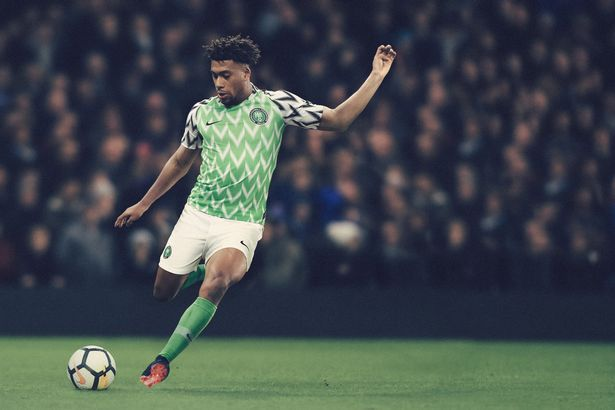 Newly-released Super Eagles World Cup kit tops UK paper ranking