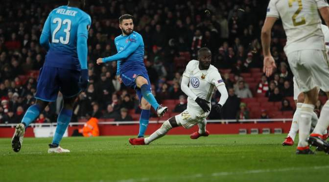 Arsenal 1-2 Östersund (agg 4-2)Miserable Gunners lose but progress after all