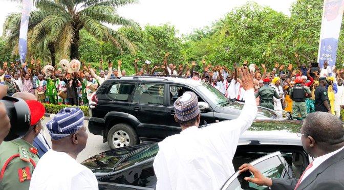 President Buhari visits Lagos –  #PMBinLagos