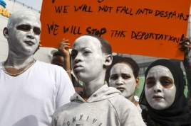 Israel has been hit by a wave of protests over the government's policy on migrants.