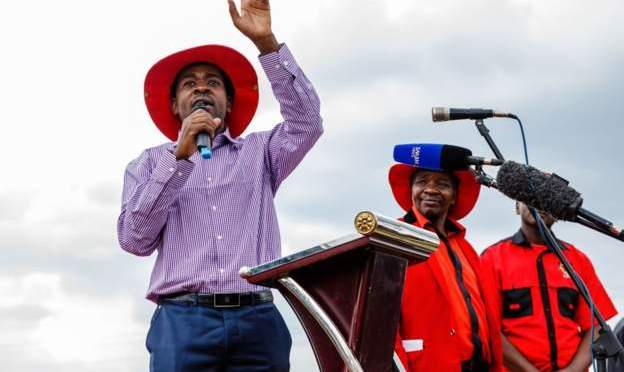 Nelson Chamisa plans to run against President Mnangagwa in elections.