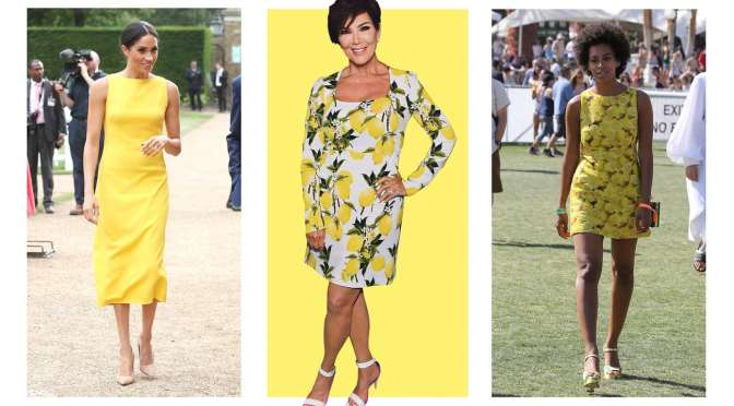 Juicy fruit: how the lemon won summer style