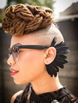 Afropunk Festival, Brooklyn, 2016.CreditDeidre Schoo for The New York Times