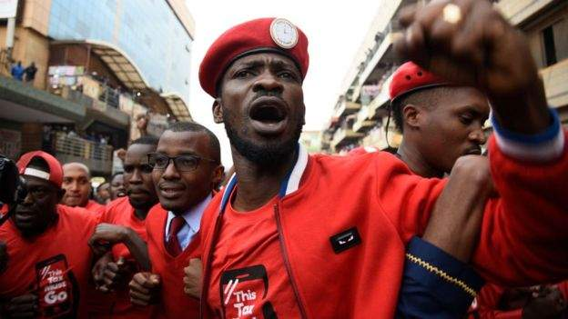 Bobi Wine is a popular figure among many young people in Uganda