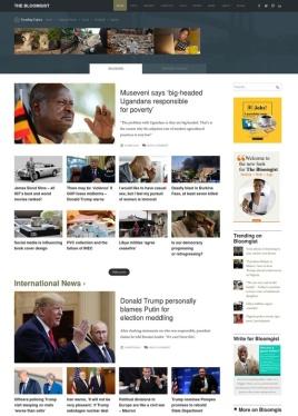 Bloomgist homepage