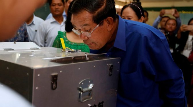 Cambodia's prime minister rigged an election: here is how he did it