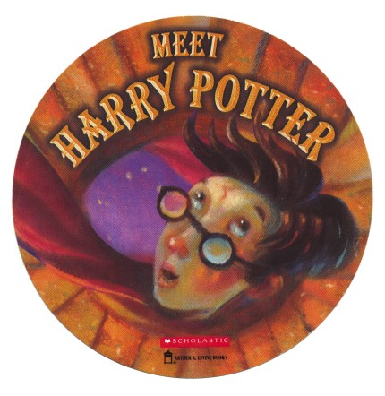 The first Potter sticker. Photo: The New York Times
