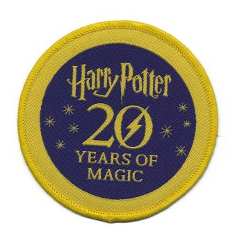 A patch commemorating the Potter books' 20th anniversary. Photo: The New York Times