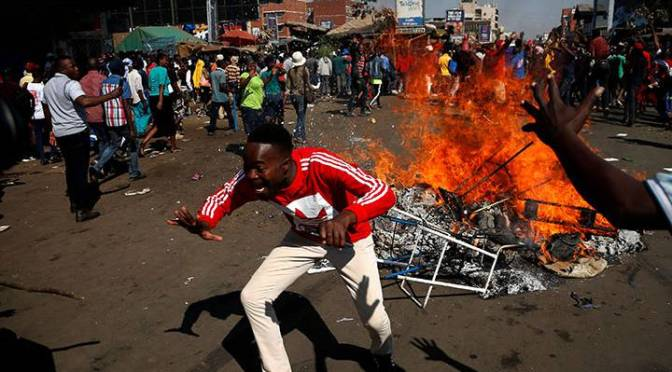 Zimbabwe activists 'in court' over deadly violence