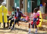 In neighbouring Zimbabwe on Tuesday, suspected cholera patients are being treated at a hospital in the capital Harare. More than 20 people have died of the disease in Harare since the beginning of the month.