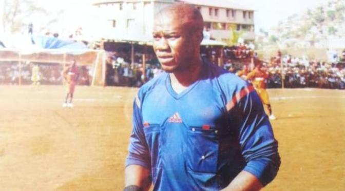Sierra Leonean referee collapses and dies while officiating a match
