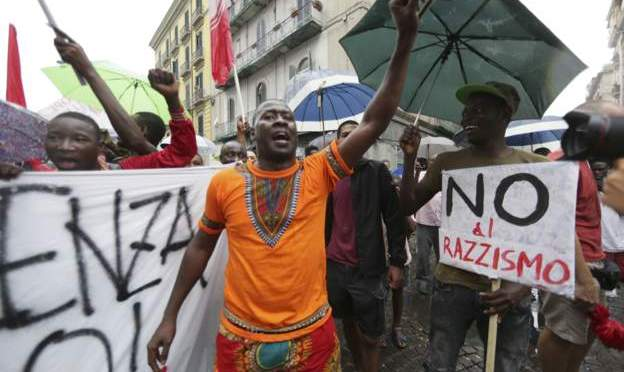 Italy arrests over 'iron bars attack on Gambians'