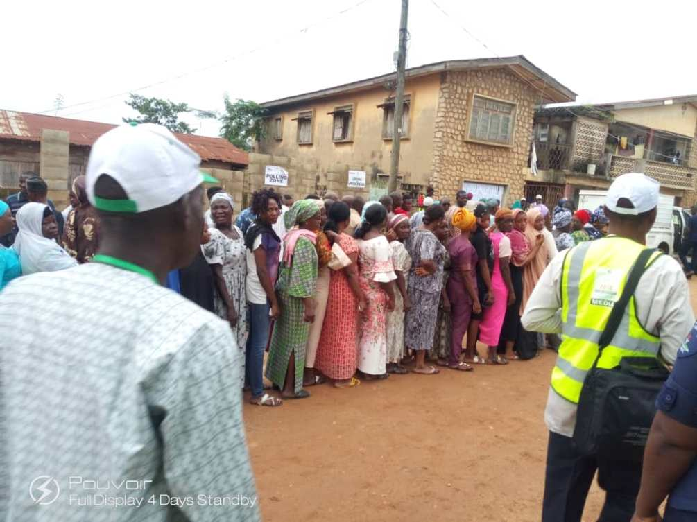 Voters in Osun election