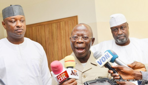 DSS breakdowns how politicians 'bribed' Oshiomhole in dollars
